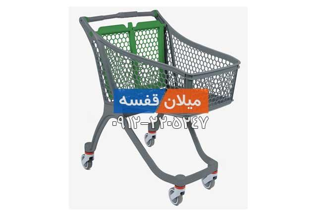 چرخ خرید پلاستیکی طرح شماره 6
