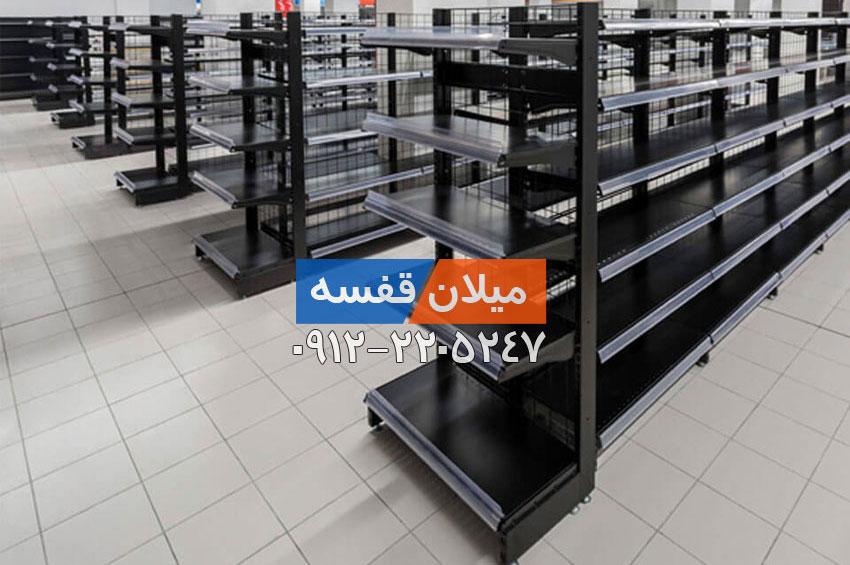 قفسه فروشگاهی طرح جدید