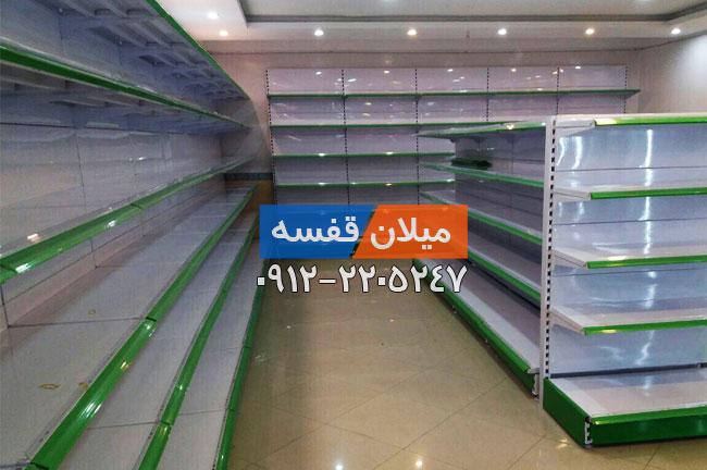 قفسه بندی سوپرمارکتی دو طرفه کد 3