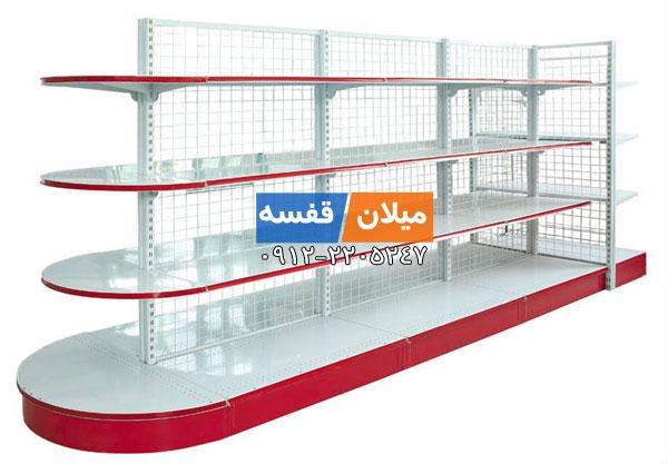 قفسه بندی سوپرمارکتی دو طرفه